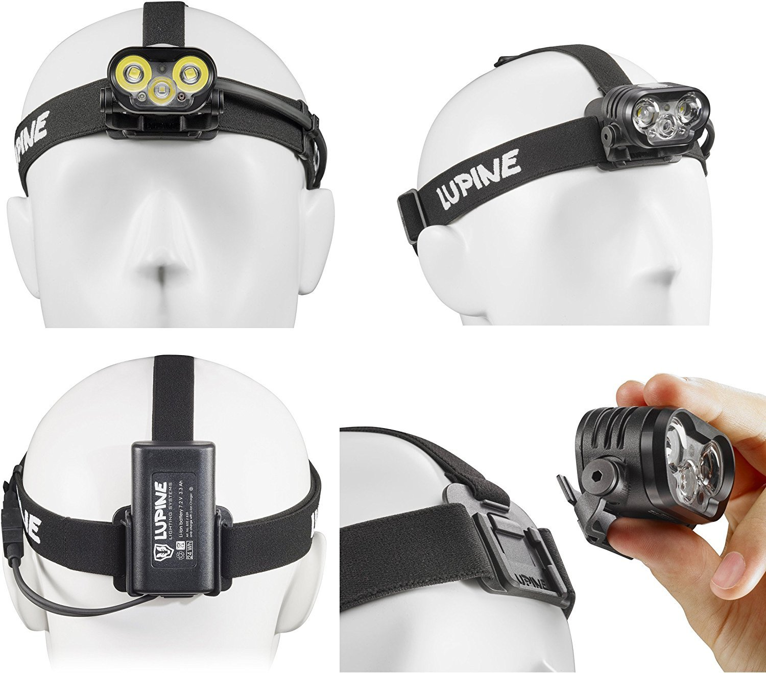 Lupine Lighting Systems BLIKA X4 2100 Lumen LED Headlamp System by Lupine Lighting Systems (Image #1)