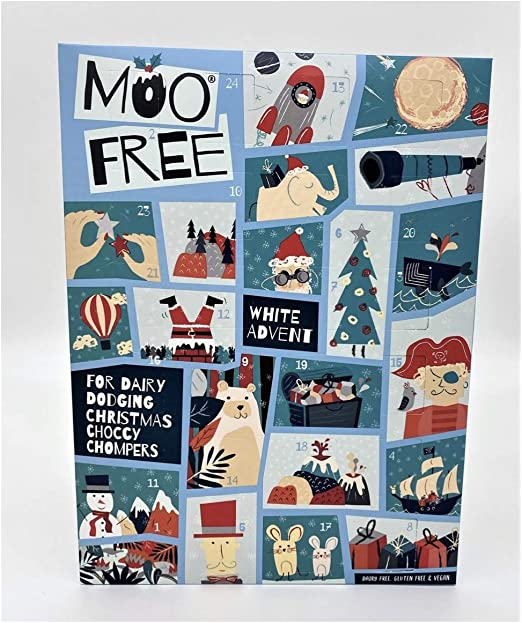 Organic Free From Advent Calendar Moo Free Case of 6 100g