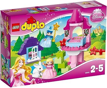 Disney Spielzeug mit gro/ßen Bausteine LEGO Duplo 10855 Cinderellas M/ärchenschloss