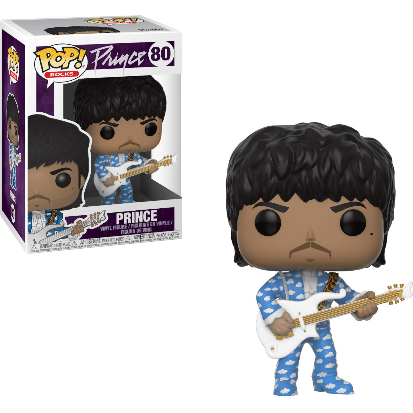 Around The World in a Day BCC94177P #080 // 32248 1 Music Themed Trading Card Bundle Rocks Vinyl Figure Funko Prince : Prince x POP