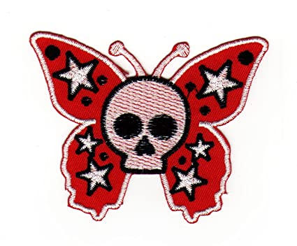 Parche plancha de planchar Iron on patches applikation mariposa ...