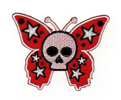 Parche plancha de planchar Iron on patches applikation mariposa ...