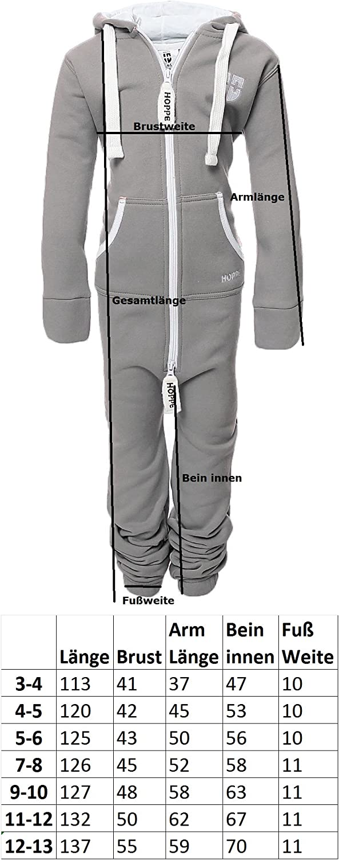 Gennadi Hoppe Kinder Jumpsuit Overall Jogger Trainingsanzug M/ädchen Anzug Jungen Onesie,lila,9-10 Jahre