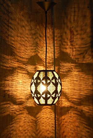 Buy Logam Contemporary Moorish Metal hanging light Online at Low