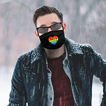 BXYJSHIYI Transgender Pride Bisexual Dragon Winddichter Mundschutz Halstuch Schutz des Gesichts Face Cover Balaclava