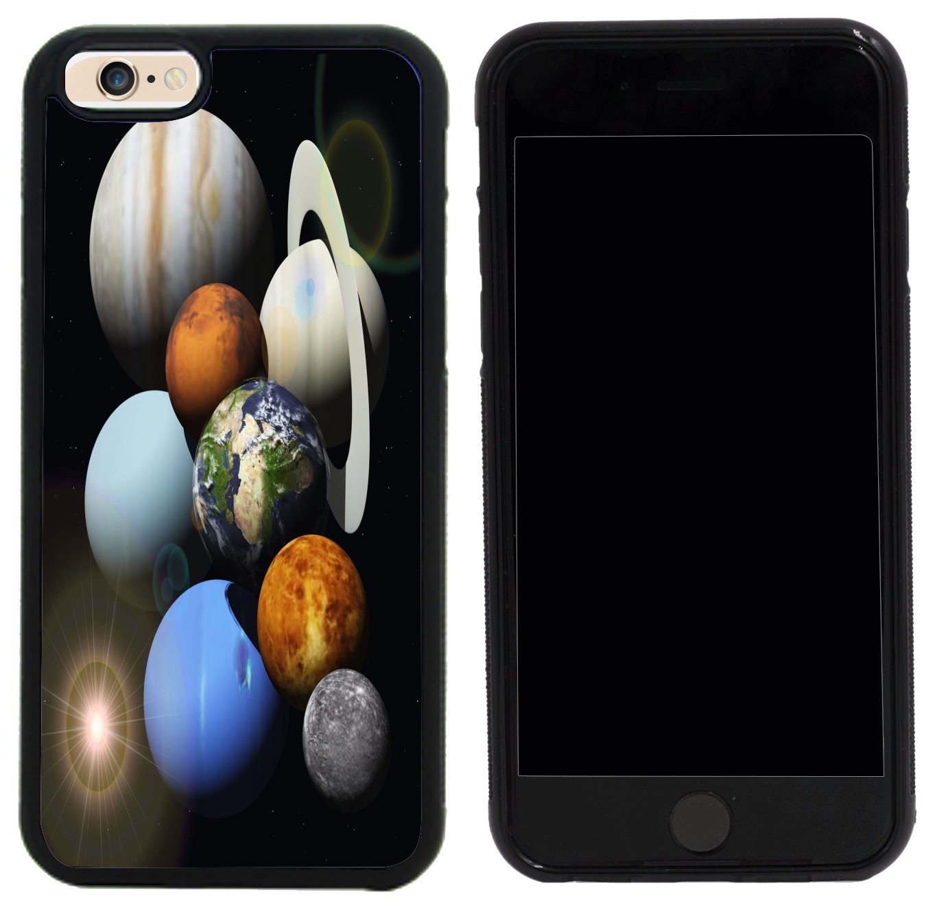 Rikki Knight Case Cover for iPhone 6/6s - Solar System Planets Design by Rikki Knight