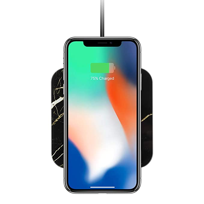 Amazon com: LAX Wireless Charger Charging Pad - Fast Qi Stand & Pad
