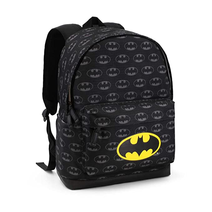 Karactermania Batman Evolution Mochila tipo casual, 42 cm , 16 litros, Negro: Amazon.es: Equipaje
