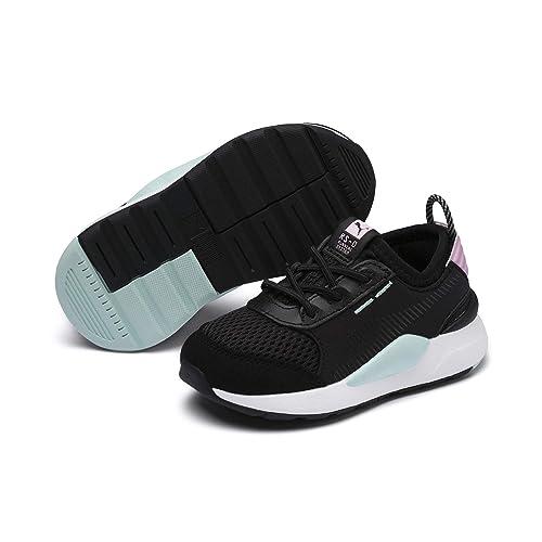 save off 09e1c 30ebf PUMA RS-0 Winter Inj Toys Baby Sneaker Puma Black-Pale Pink 6 Infant