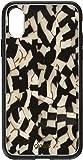 iPhone X,Bambi 手机壳带钢化玻璃屏幕保护膜 Tort - Black Pearl