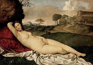 nude Greek goddess