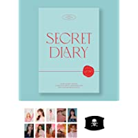 IZ * ONE SPRING COLLECTION SECRET DIARY [Calendar Package] [KPOP MARKET Privilege: Additional benefits 10 sets of double-sided photo card (random) / mask (random)