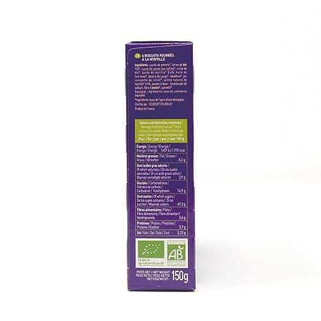 Le Moulin Du Pivert Delicia Arándano - Paquete de 12 x 150 gr - Total: 1800 gr: Amazon.es: Alimentación y bebidas