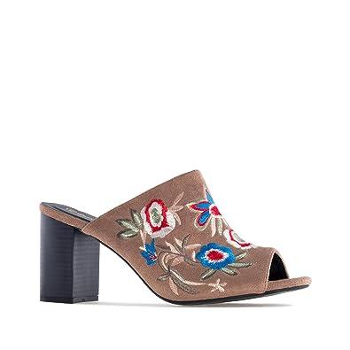 7c19f7a29b69f0 Mules en Suèdine.pour Femmes.Petites et Grandes Pointures 32/35 et 42/45:  Amazon.fr: Chaussures et Sacs