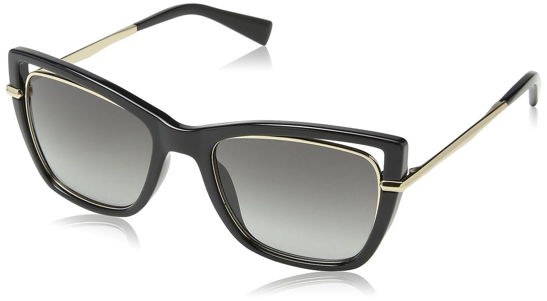 Womens Sto8 Sunglasses, Grey (Shiny Black), One Size Tous
