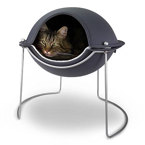 Cama para gatos Hepper en forma de cápsula: una cama para gatos de ...