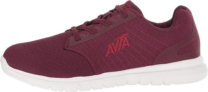 Avia Womens Avi-Solstice Sneaker, Tannin Purple/Snowline Ecru/Plum Pink, 6 Medium US: Amazon.es: Zapatos y complementos