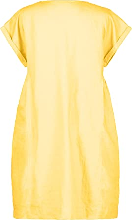 Ulla Popken Femme Grandes Tailles Robe en Jersey Anneaux sur Bretelles 747803