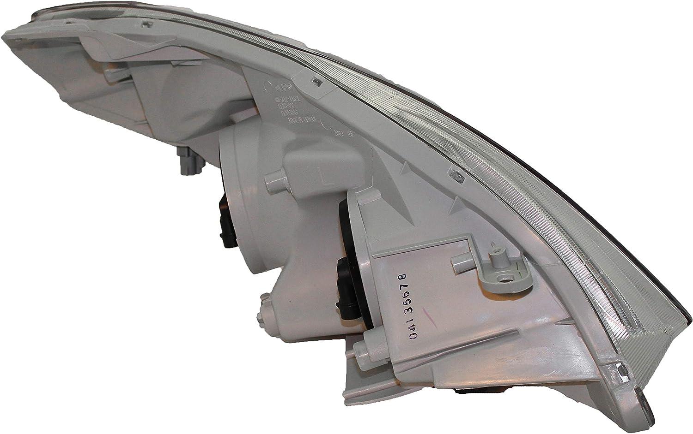 6 inch Larson Electronics 1015P9IM294 100W Halogen Driver Side with Install kit -Black 2005 Toyota Matrix WO Side Curtain Post Mount Spotlight
