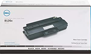 Dell G9W85 Toner Cartridge B1260dn/B1265dnf/B1265dfw Laser Printers, Black