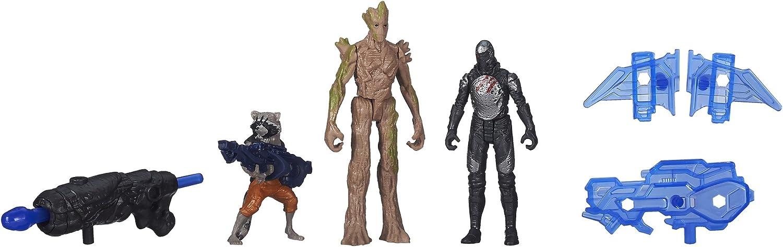 Marvel Pack de 2 Minifiguras de Guardianes De La Galaxia Groot ...