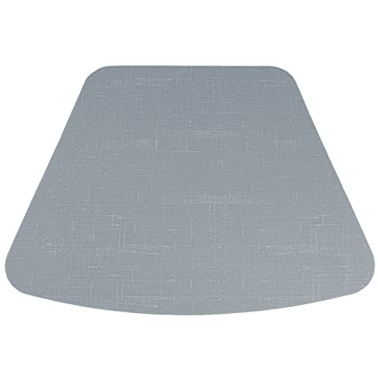 SUDAJI TABLECARE Wedge Silicone Placemats For Round Table Dining Table  Placemat Silicone Round Table Mat,