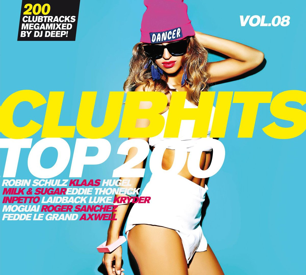 VA - Clubhits Top 200 Vol. 08 - 3CD - FLAC - 2016 - VOLDiES Download
