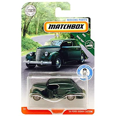 Matchbox Moving Parts '36 Ford Sedan Custom MBX Road Trip Diecast 1:64: Toys & Games