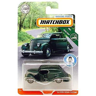 Matchbox Moving Parts \'36 Ford Sedan Custom MBX Road Trip Diecast 1:64: Toys & Games [5Bkhe1105076]
