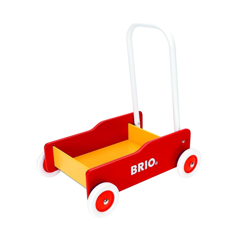 Lauflernwagen rot-gelb Brio 31350