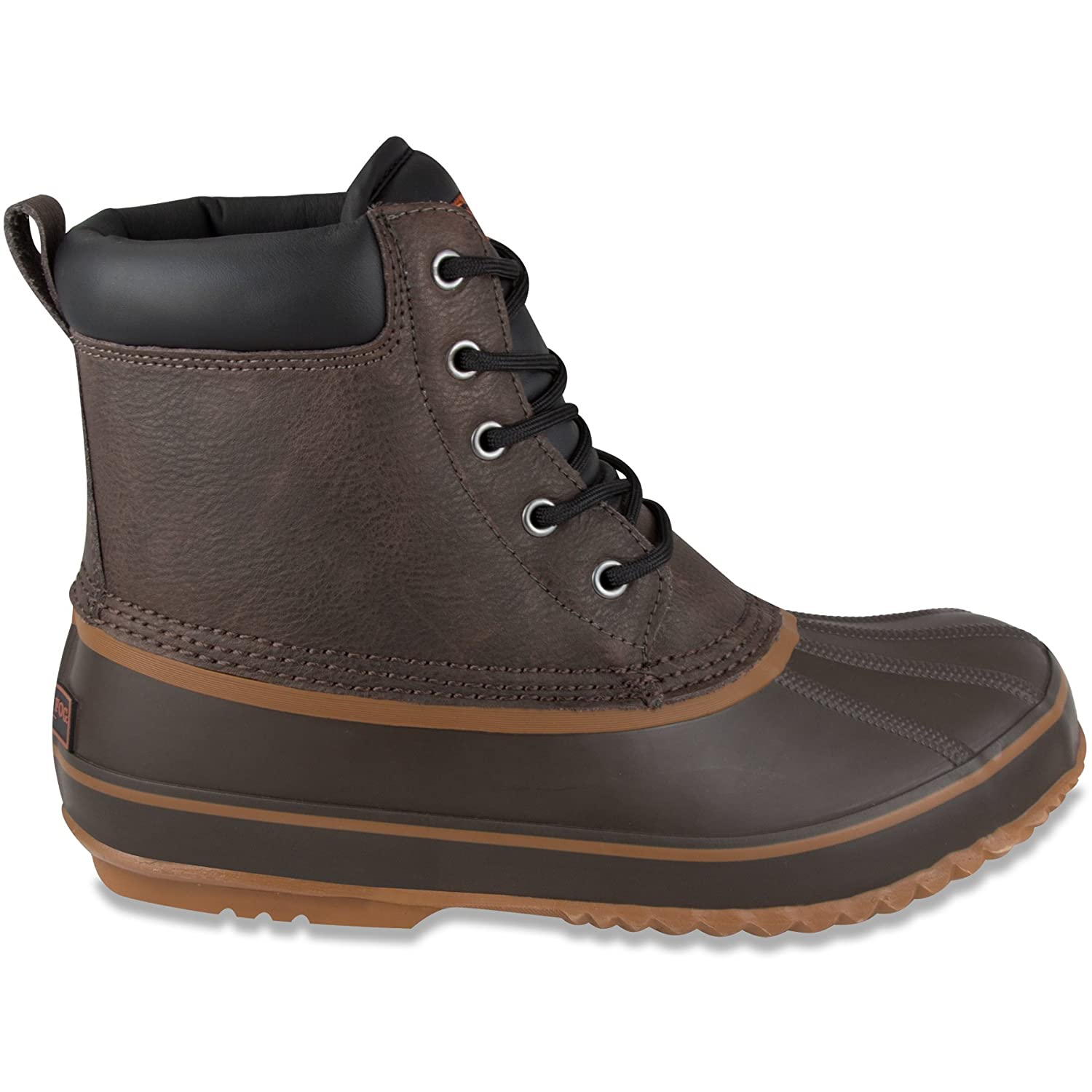 27627be4bb6 London Fog Mens Ashford Waterproof and Insulated Duck Boot