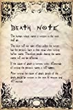 Deathnote - Rules Poster 24 x 36in