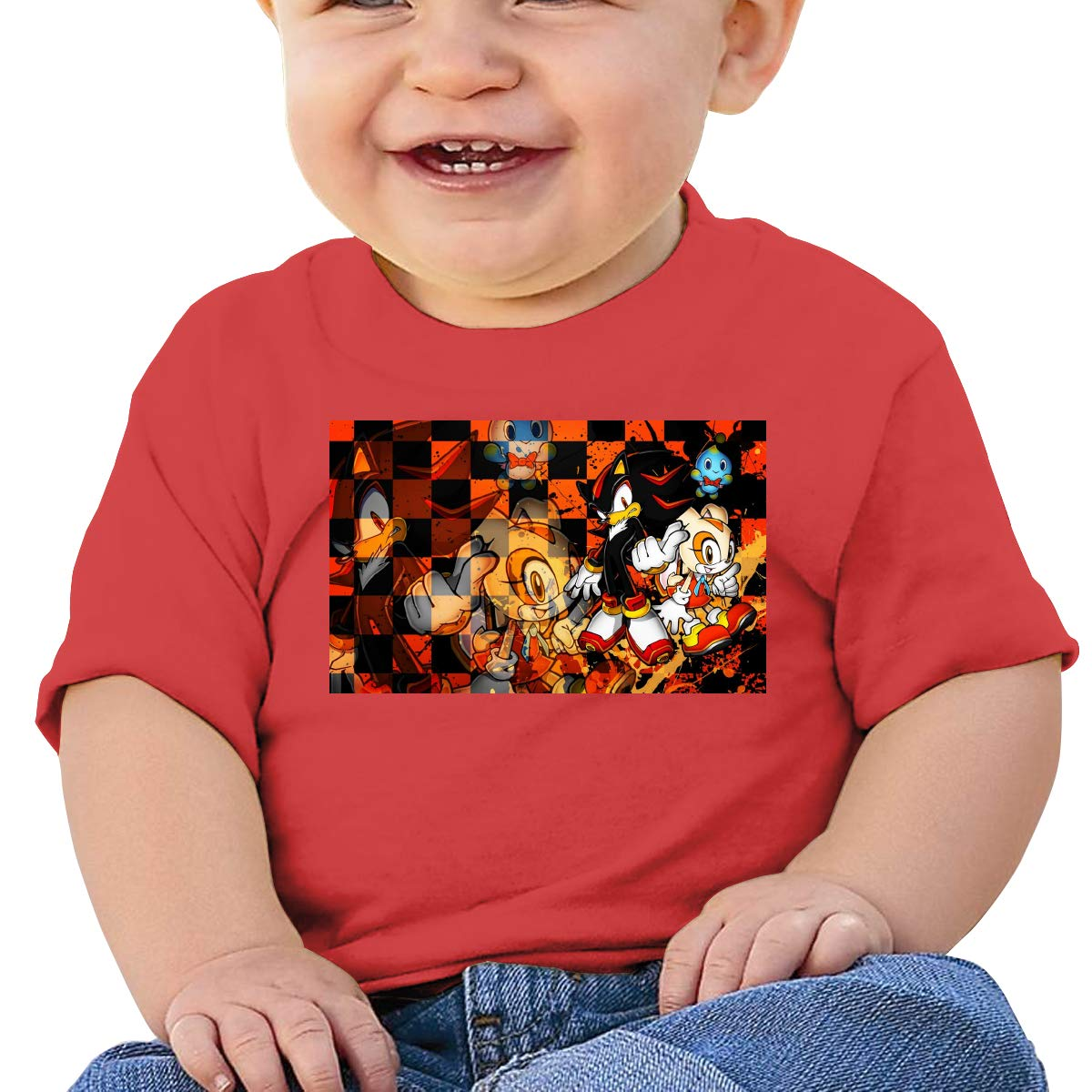 FHTD The Werehog Infant Graphic T-Shirt Baby Cartoon Cotton Tees Black