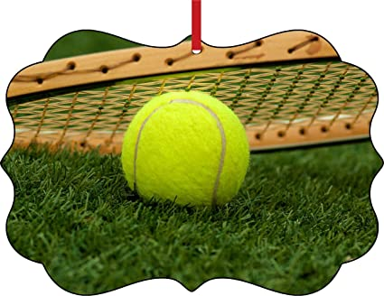 Amazon Com Rosie Parker Inc Tennis Ball And Racket In The Grass