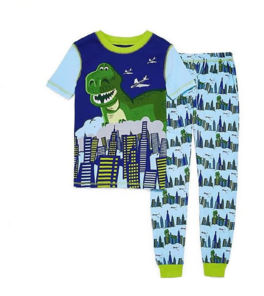 Disny Toy Story Giant Dinosaur Rex In The City Cotton Pajama Pants Set
