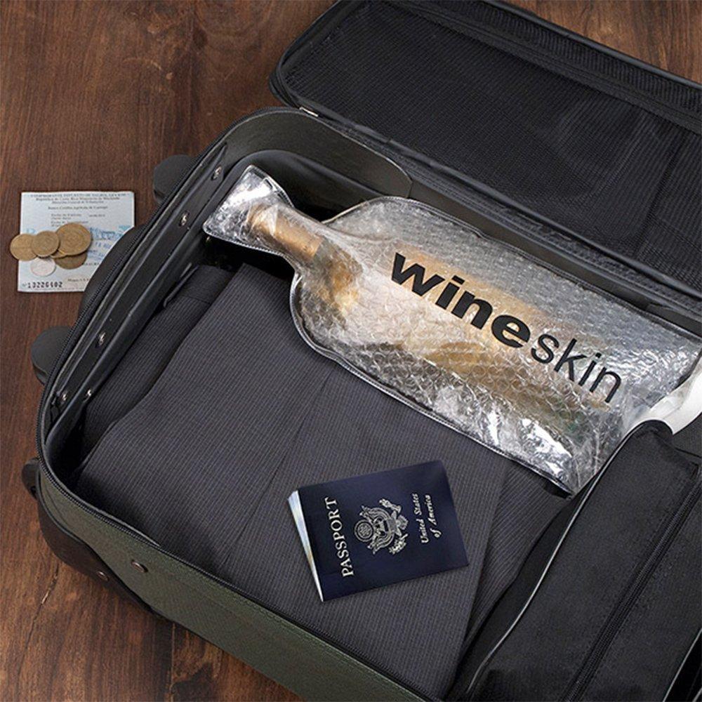 Wine Skin Wineskin Bag, 8-Pack by WineSkin