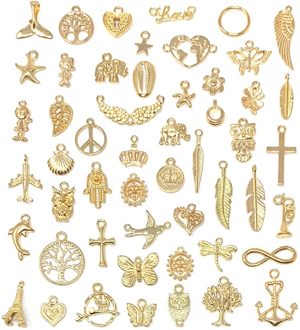 Antique Bronze Charms,Jesus Necklace Jewelry Making Findings,3899-3901 50pcs Wholesale Jesus Pendant DIY Supplies Lovely Jewelry