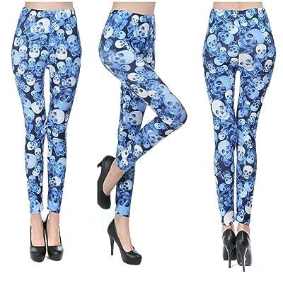 Clode® - Legging de sport - Femme Bleu bleu clair M - - M