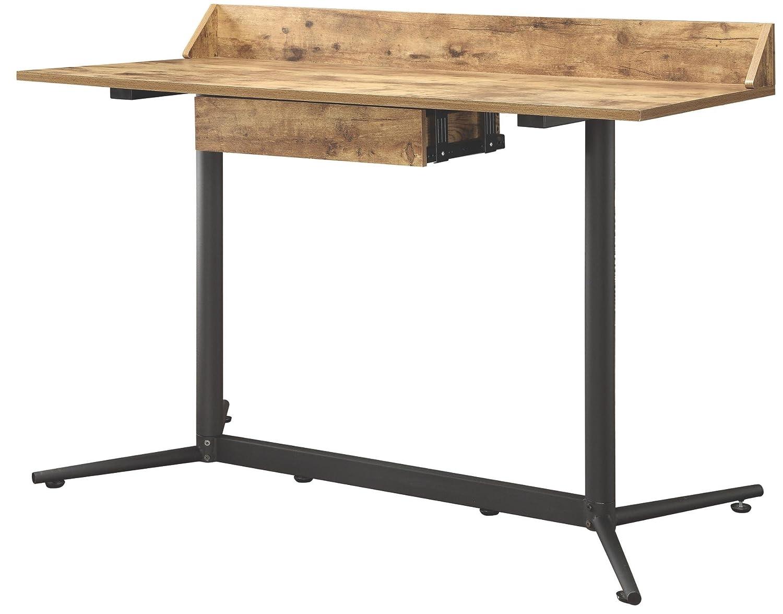 Amazon.com: Coaster 801218 Home Furnishings Desk, Antique Nutmeg/Black:  Kitchen & Dining - Amazon.com: Coaster 801218 Home Furnishings Desk, Antique Nutmeg