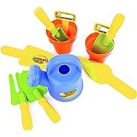 Wonder Kids Wdk Partner - A1500719 - Outillage De Jardin pour Enfant - Set du Petit Jardinier - 11 Accessoires