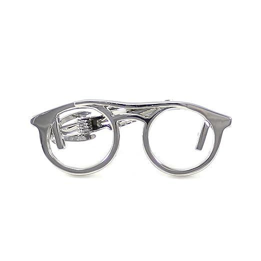 d351e2425d Amazon.com  MENDEPOT Glasses Tie Clip Rhodium Plated Sunglasses ...