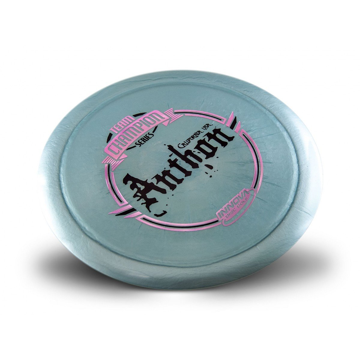 Innova Limited Edition Team Champion Tour Series Josh Anthon Shimmer Star Destroyer Disc Golf Distance Driver (Stamp colors may vary) (Silver)