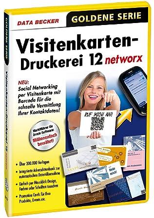 Visitenkarten Druckerei 12 Networx