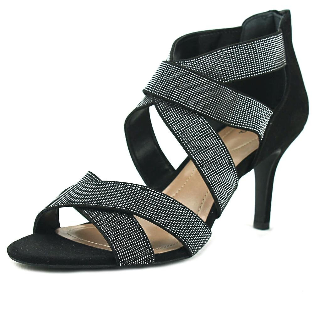 Style & Co. Womens Seleste Open Toe Ankle Strap Classic Pumps, Black, Size 7.5 by Style & Co.