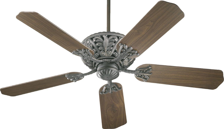 """Quorum 67 Windsor 52"""" 5 Blade Indoor Ceiling Fan in Antique"""
