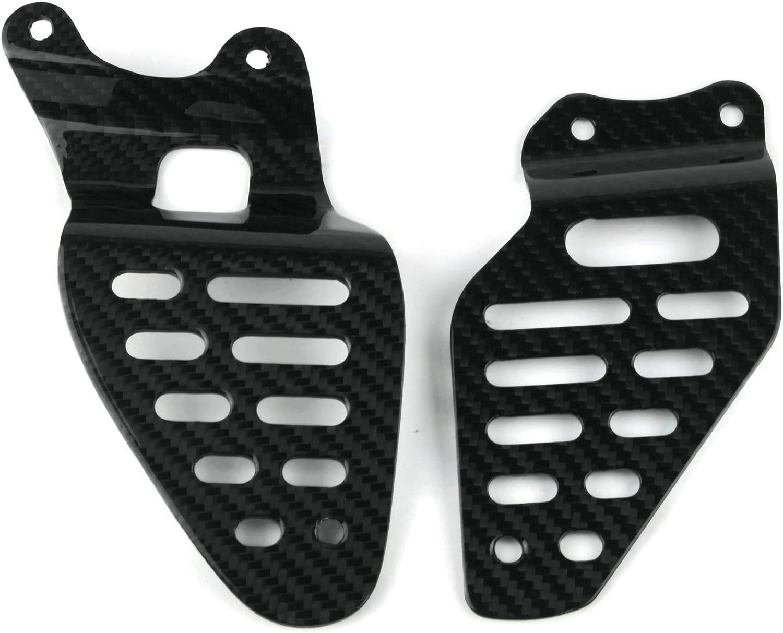 Taloneras de 100/% Carbono compatible con Yamaha YZF R6 06-16.