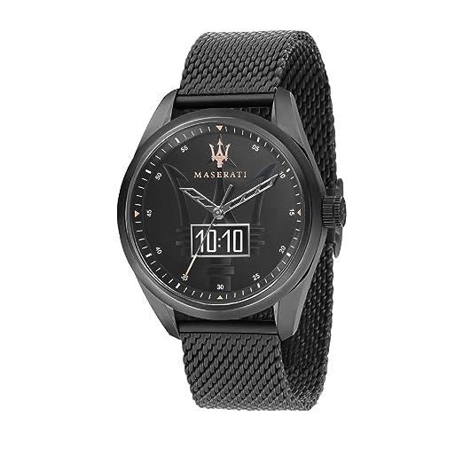 MASERATI Reloj Analógico para Hombre de Cuarzo con Correa en Acero Inoxidable R8853112001: Amazon.es: Relojes
