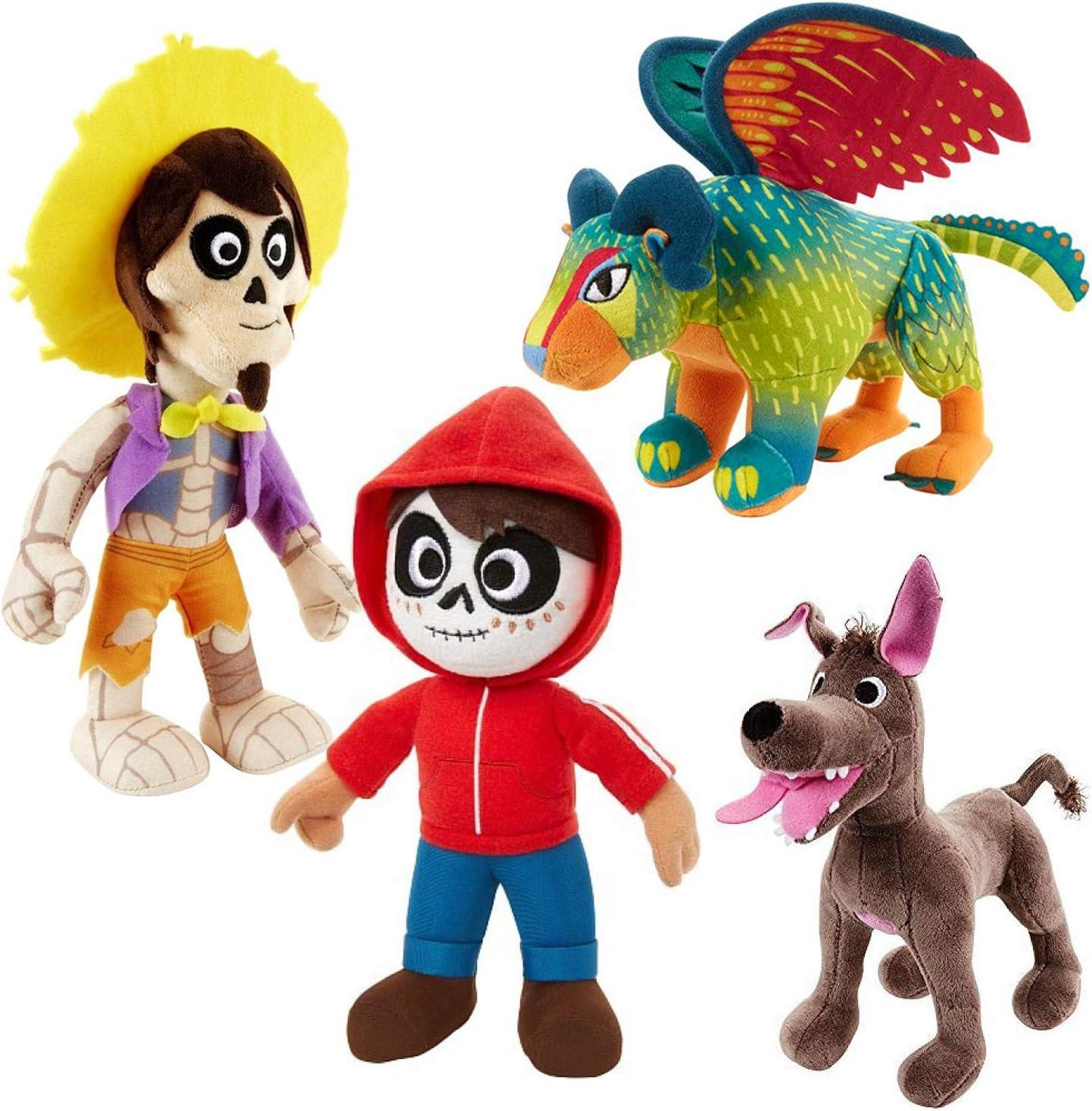 Disney Pixar - Coco Peluche Conjunto Completo de Personajes de ...