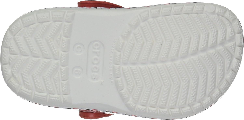 Crocs Kids Drew Barrymore Crocband Chevron Clog