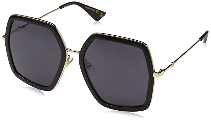 671d0876a61 Image Unavailable. Image not available for. Colour  Gucci GG 0106 S- GG0106S  Sunglasses 56mm